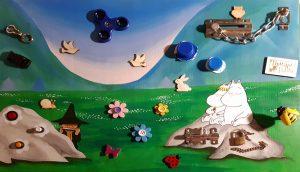 Montessori szülőknek Ösztönanyu matatófal