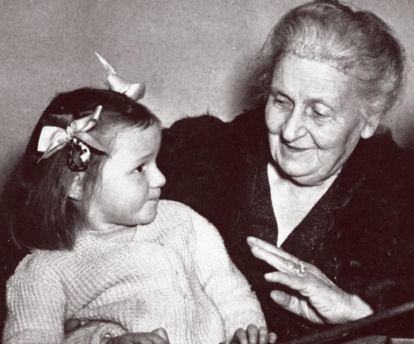 ösztönanyu montessori szülőknek, Maria Montessori