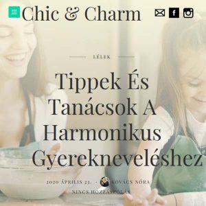 ösztönanyu montessori szülőknek, megjelenések - Chic and Charm 2
