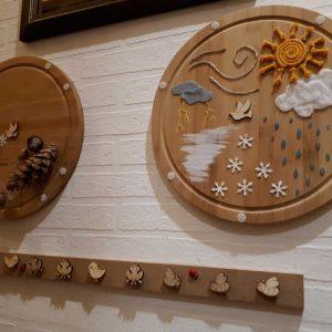 ösztönanyu montessori szülőknek neveléssegitő eszközök, évszakok időjárás 4